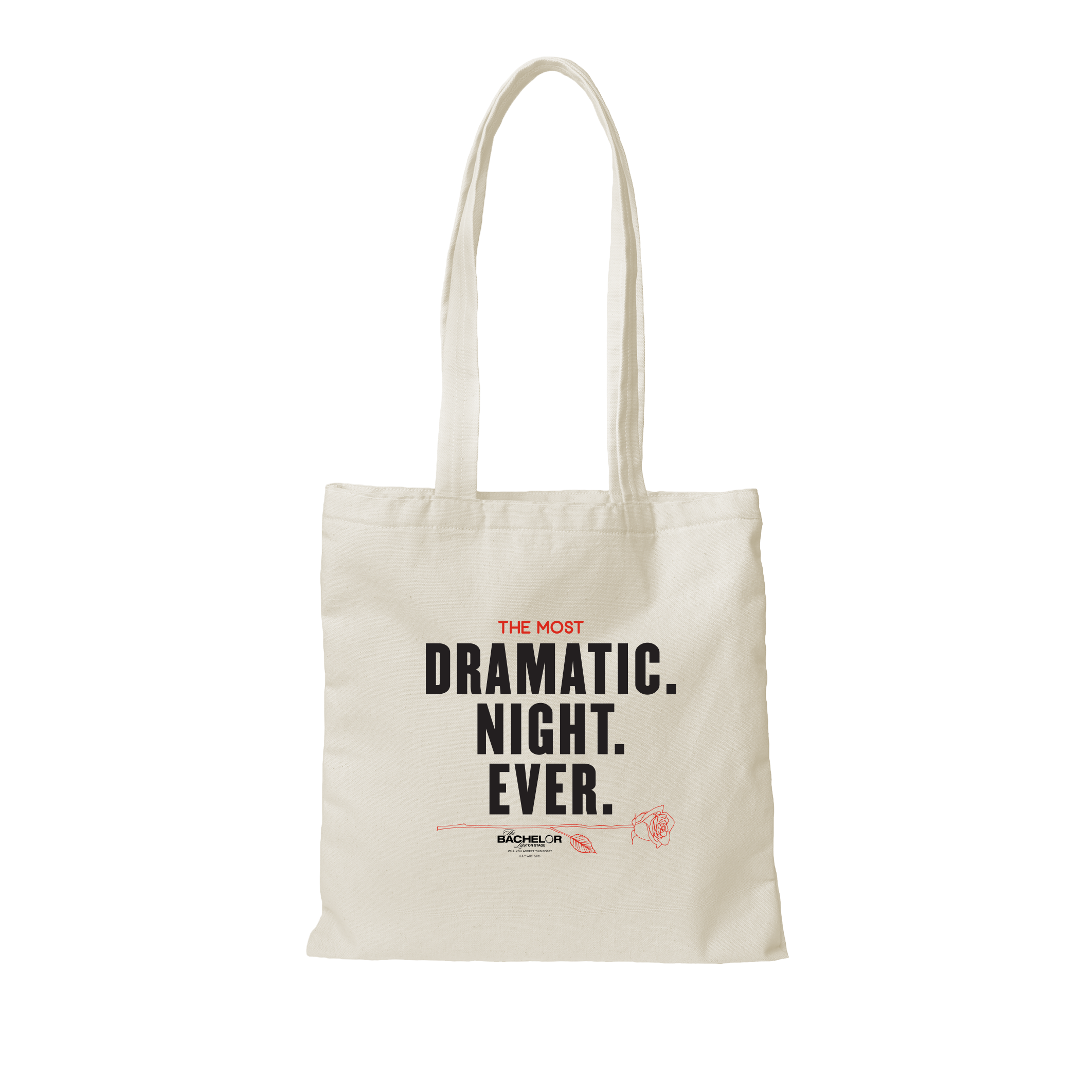 Dramatic Night Tote